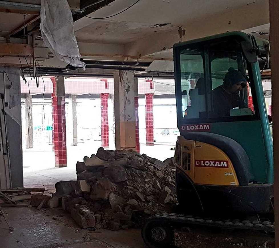 Les travaux du bâtiment E travaux4